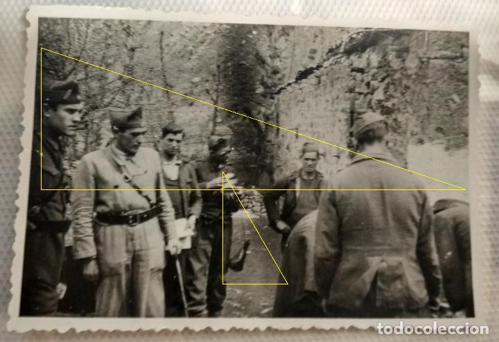 FOTO FRENTE NORTE LEGION CONDOR GUERRA CIVIL EUSKADI 1937 (Militar - Fotografía Militar - Guerra Civil Española)