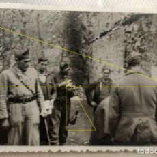 Militaria: FOTO FRENTE NORTE LEGION CONDOR GUERRA CIVIL EUSKADI 1937. Lote 189992056