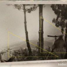 Militaria: FOTO FRENTE NORTE LEGION CONDOR GUERRA CIVIL EUSKADI 1937 TELEMETRO COINCIDENCIA ARTILLERIA. Lote 189992382