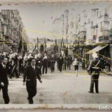 Militaria: FOTO FRENTE NORTE LEGION CONDOR GUERRA CIVIL GENERAL MOLA DESFILE. Lote 189993725