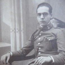 Militaria: FOTOGRAFÍA SOLDADO INGENIEROS DEL EJÉRCITO ESPAÑOL. 1926. Lote 190017358