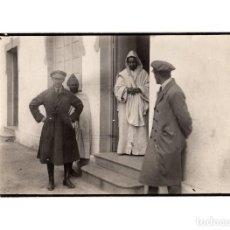 Militaria: FOTOGRAFÍA OFICIAL DE ARTILLERÍA ALFONSO XIII. EN ÁFRICA - 9,5X14,5.. Lote 190336448