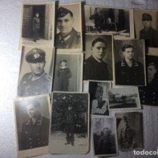Militaria: GRAN LOTE DE FOTOS ALEMANES DE LA SEGUNDA GUERRA . Lote 190350785