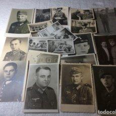 Militaria: GRAN LOTE DE FOTOS ALEMANES DE LA SEGUNDA GUERRA . Lote 190351930