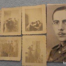 Militaria: ANTIGUO CONJUNTO DE FOTOGRAFIAS.DIVISION AZUL O LEGION AZUL??. Lote 190387820