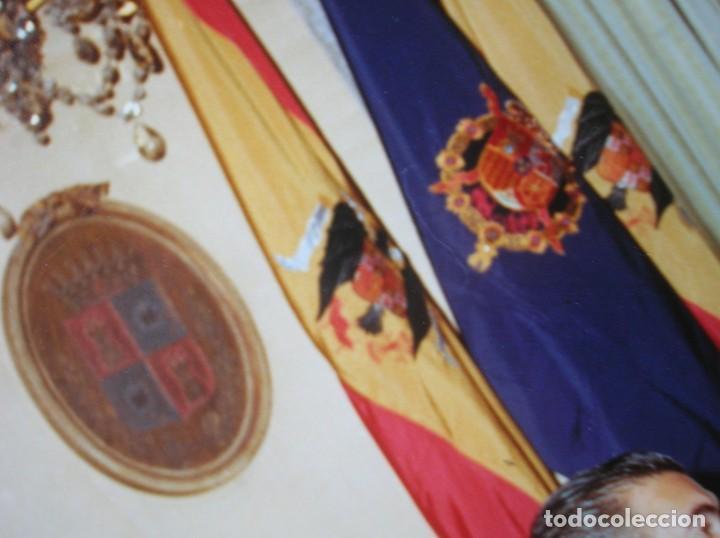 Militaria: EXCEPCIONAL DOCUMENTO HISTORICO. VISITA DEL ENTONCES PRINCIPE DON JUAN CARLOS A BURGOS. - Foto 8 - 190437677