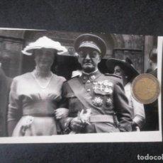 Militaria: FOTO CORONEL DE ARTILLERÍA EJÉRCITO TIERRA BILBAO. BEGOÑA. AÑOS 40. CONDECORACIÓN MEDALLA. Lote 190501135