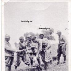 Militaria: COMIDA TROPAS CTV FIAMME NERE ITALIANOS LA CORONADA(BADAJOZ) 1937 GUERRA CIVIL. Lote 190554953