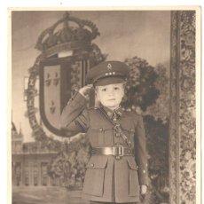 Militaria: EL REY JUAN CARLOS DE BORBÓN. FOTOGRAFIADO DE CAPITÁN DE CABALLERÍA.. Lote 190619862