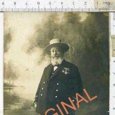 Militaria: UNICA FOTOGRAFIA DE TENIENTE CORONEL 3º ESTABLECIMIENTO REMONTA ECIJA , CON SABLE . Lote 190652663