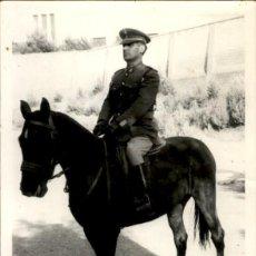 Militaria: ORIGINAL - EPOCA DE FRANCO - FOTOGRAFÍA BRIGADA DE CABALLERÍA - CASTILLEJOS - ZARAGOZA - ESPAÑA. Lote 190842091