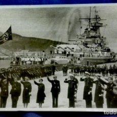Militaria: CEUTA 1939 GUERRA CIVIL, ACORAZADO GRAF SPEE. Lote 191022651