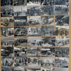 Militaria: FERIA INTERNACIONAL DE VIENA 1942 225 FOTOS 11X7CM DE MILITARES, GASÓGENO, INDUSTRIA, TRACTORES, ETC. Lote 191041275