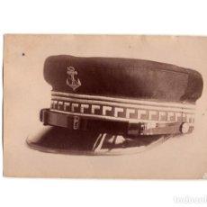 Militaria: FOTOGRAFÍA MUESTRA GORRA TIENDA VICENTE RODRIGUEZ. MADRID.. Lote 191105220