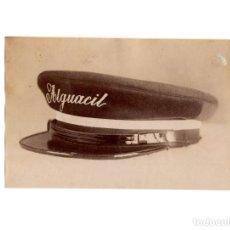 Militaria: FOTOGRAFÍA MUESTRA GORRA TIENDA VICENTE RODRIGUEZ. MADRID.. Lote 191105366