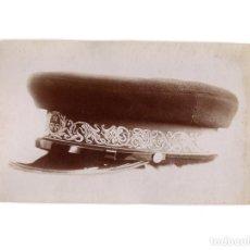 Militaria: FOTOGRAFÍA MUESTRA GORRA TIENDA VICENTE RODRIGUEZ. MADRID.. Lote 191106996
