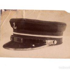 Militaria: FOTOGRAFÍA MUESTRA GORRA TIENDA VICENTE RODRIGUEZ. MADRID.. Lote 191107297