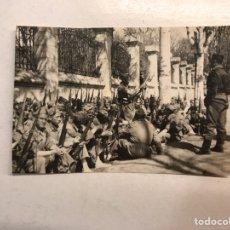 Militaria: MILITAR. FOTOGRAFÍA MILICIANOS REPUBLICANOS??, MAUSER EN MANO..., (H.1935?) MEDIDAS: 8 X 5,5 CM.,. Lote 191130181