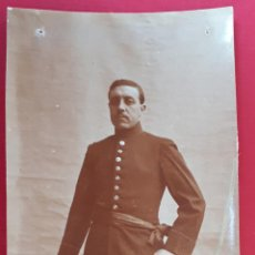 Militaria: FOTOGRAFIA FOTO ALBUMINA MILITAR ORIGINAL , FM7. Lote 191179148