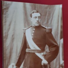 Militaria: FOTOGRAFIA FOTO ALBUMINA MILITAR ORIGINAL , FM7. Lote 191180280
