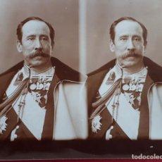 Militaria: FOTOGRAFIA FOTO ALBUMINA MILITAR ORIGINAL , FM7. Lote 191180512