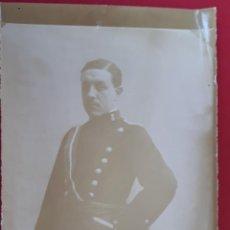 Militaria: FOTOGRAFIA FOTO ALBUMINA MILITAR ORIGINAL , FM7. Lote 191180668