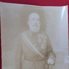 Militaria: FOTOGRAFIA FOTO ALBUMINA MILITAR ORIGINAL , FM7. Lote 191180755