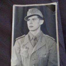 Militaria: FOTOGRAFIA SOLDADO AFRIKA KORPS UNIFORME TROPICAL III REICH. Lote 191281032