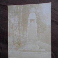 Militaria: MONUMENTO CRUZ HIERRO POSTAL. Lote 191292592