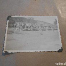 Militaria: SOLDADOS ALEMANES DESCANSANDO. Lote 191357646
