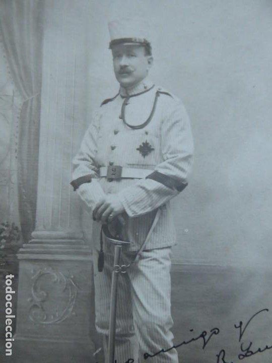 FOTOGRAFÍA CABO ARTILLERÍA DEL EJÉRCITO ESPAÑOL. MADRID 1913 (Militar - Fotografía Militar - Otros)