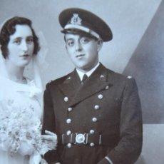 Militaria: FOTOGRAFÍA OFICIAL CUERPO DE MÁQUINAS ARMADA. CARTAGENA 1934. Lote 191387711