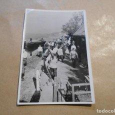 Militaria: FOTO III REICH- -SOLDADOS TRANSPORTANDO VIGAS. Lote 191498248