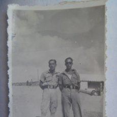 Militaria: LA LEGION : FOTO DE LEGIONARIOS POSANDO. MELILLA. Lote 191506330