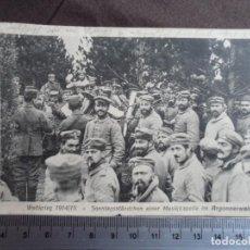 Militaria: SOLDADOS 1915 POSTAL. Lote 191581096