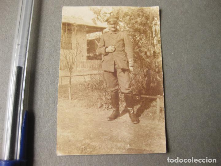 FOTOGRAFIA DE UN MILITAR ALEMÁN CON LA CRUZ DE HIERRO (Militar - Fotografía Militar - I Guerra Mundial)