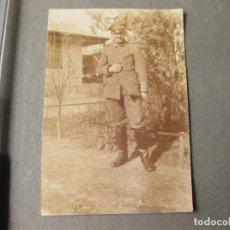 Militaria: FOTOGRAFIA DE UN MILITAR ALEMÁN CON LA CRUZ DE HIERRO. Lote 191675087