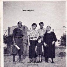 Militaria: SOLDADOS ITALIANOS CTV SARIÑENA (ZARAGOZA) FRENTE ARAGON 1937 GUERRA CIVIL. Lote 191720308