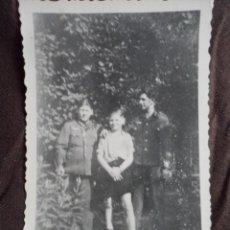 Militaria: SOLDADOS WEHRMACHT CON NIÑO. Lote 191831161