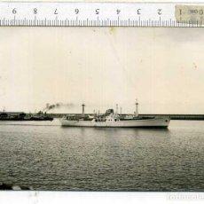 Militaria: FOTOGRAFÍA DEL BARCO DESTRUCTOR LAS PALMAS. Lote 191835752