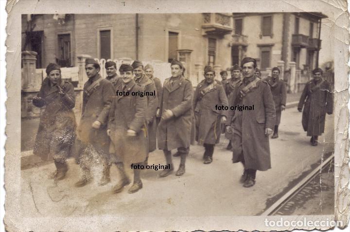 GRUPO SOLDADOS CTV LUGAR INDETERMINADO GUERRA CIVIL (Militar - Fotografía Militar - Guerra Civil Española)