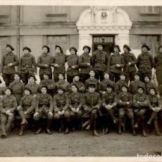 Militaria: ORIGINAL - ESPECTACULAR FOTOGRAFÍA MILITAR - CAZADOR ALPINO - FRANCIA - I GUERRA MUNDIAL 24 X 18 CMS. Lote 191918073