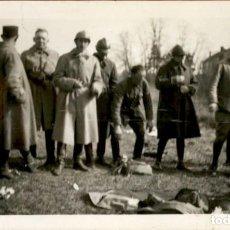Militaria: ORIGINAL - SOLDADOS FRANCESES A EXPERTIZAR - I GUERRA MUNDIAL - 12 X 7 CMS. Lote 191992037