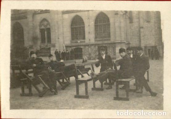 ORIGINAL - SOLDADOS FRANCESES A EXPERTIZAR - I GUERRA MUNDIAL - 7 X 5 CMS (Militar - Fotografía Militar - I Guerra Mundial)