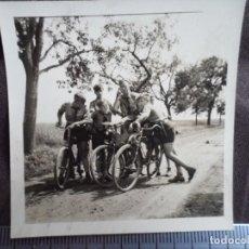 Militaria: JUVENTUDES HITLERIANAS CON BICICLETAS. Lote 191994870