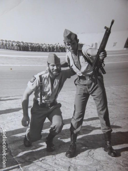 FOTOGRAFÍA LEGIONARIOS. TERCIO 4º SAHARIANO (Militar - Fotografía Militar - Otros)