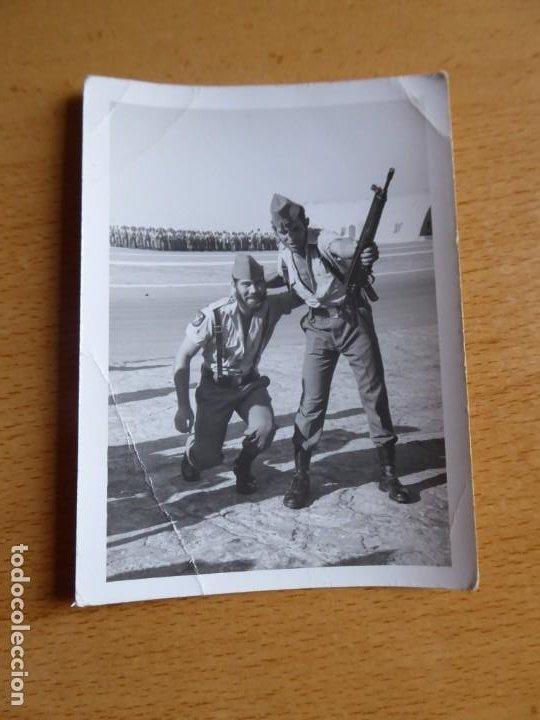 Militaria: Fotografía legionarios. Tercio 4º sahariano - Foto 2 - 192090176