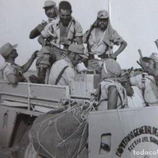Militaria: FOTOGRAFÍA LEGIONARIOS. TERCIO 4º SAHARIANO. Lote 192090338