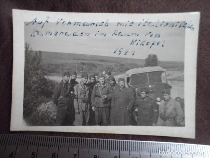 SOLDADOS WEHRMACHT E ITALIANOS 1941 (Militar - Fotografía Militar - II Guerra Mundial)