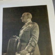 Militaria: FOTOGRAFÍA OFICIAL FRANCISCO FRANCO. Lote 192522802